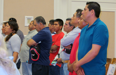 Union members and supporters of Gerawan workers spoke at Tuesday's City Council meeting.