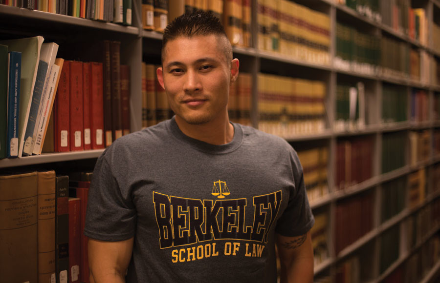 UC Berkeley law student Jeremy Long entered the porn industry to represent Asian males. Long says that he won't stop working in the business until there are more like him.