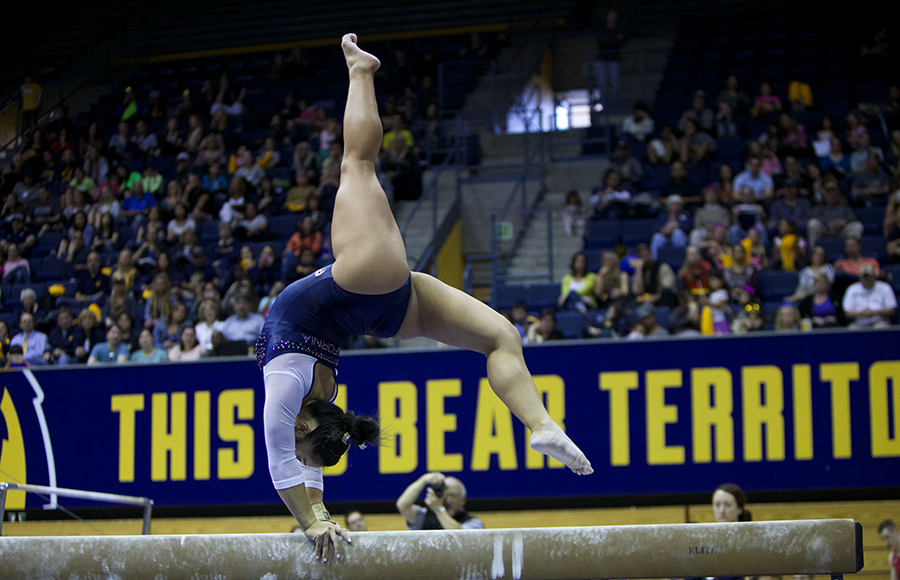 No. 20 Cal women's gymnastics hopes for strong showing at NCAA regionals this weekend