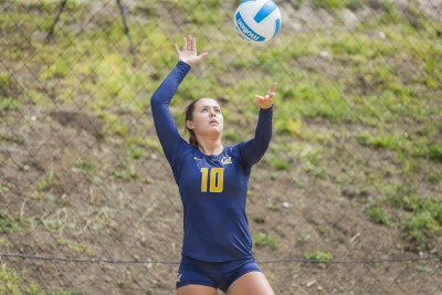 Cal Sand Volleyball vs San Jose St - March 15, 2015