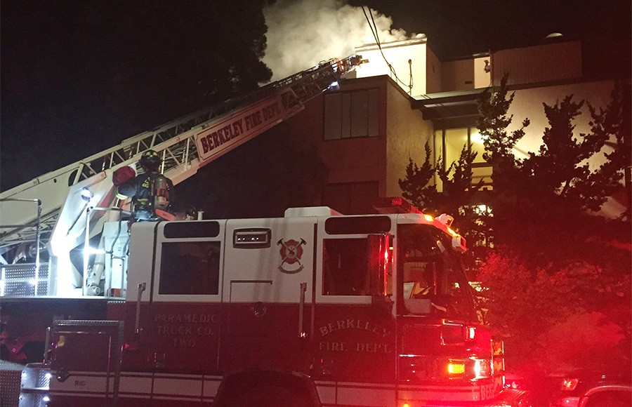 Bfd responds to fire on claremont avenue the daily for 2815 oak knoll terrace berkeley