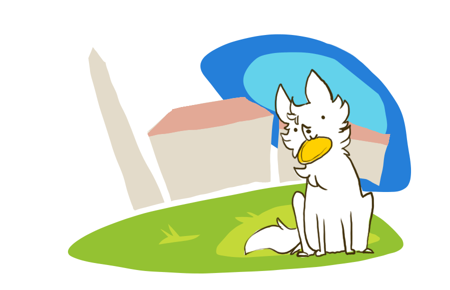 Daily Cal Blog Dog illustration