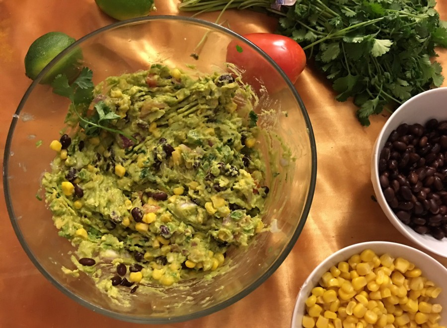 Corn and black bean guacamole | The Daily Californian