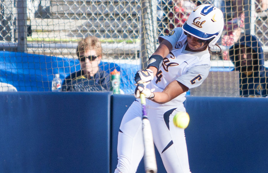 No. 22 Cal softball overcomes Mother Nature, improves to 7-1 on year