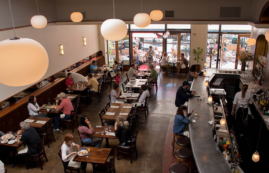 New Restaurant At Fourth Street Was Cafe Rouge