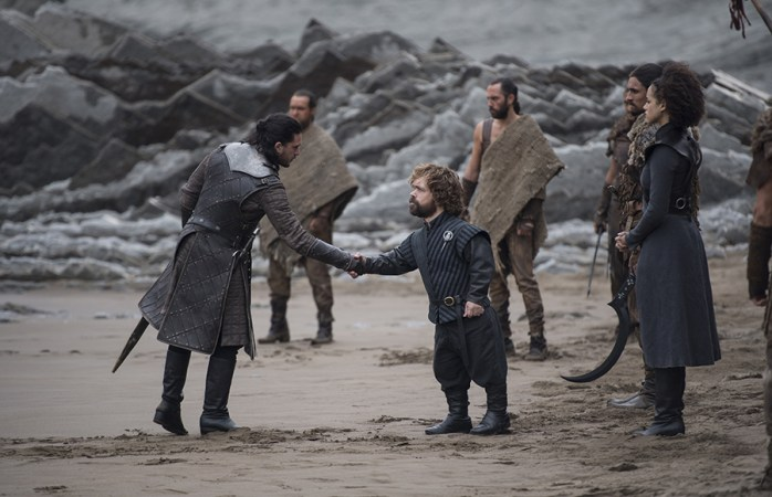 Jon reunites with Tyrion on Game of Thrones