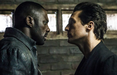 "Idris Elba and Matthew McConaughey as the Man in Black square off in ""The Dark Tower"""