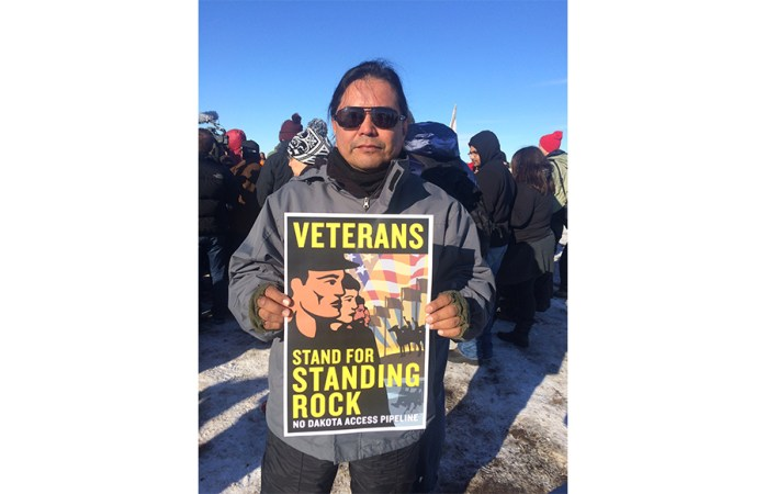 Ron Spencer went to the Standing Rock Indian Reservation twice to protest the Dakota Access Pipeline. On one of the occasions, he took his sons with him. Ron Spencer/Courtesy.
