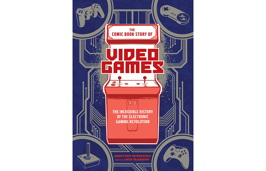 'The Comic Book Story of Video Games' features video game history