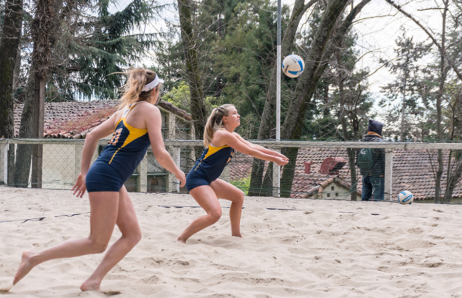 Cal beach volleyball makes history with win over St. Mary's