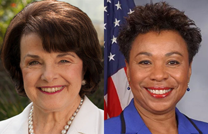 Federal elections: incumbents Dianne Feinstein, Barbara Lee win