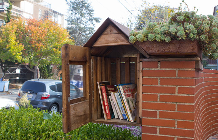 A novel form of community-building: The little libraries of Berkeley