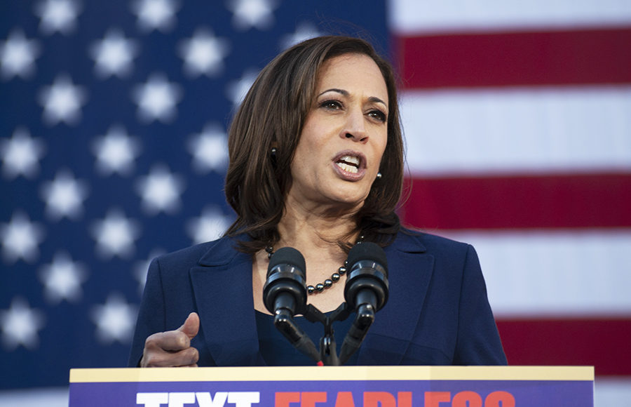 Kamala Harris Draws Large Crowd, But Many Remain Uncommitted
