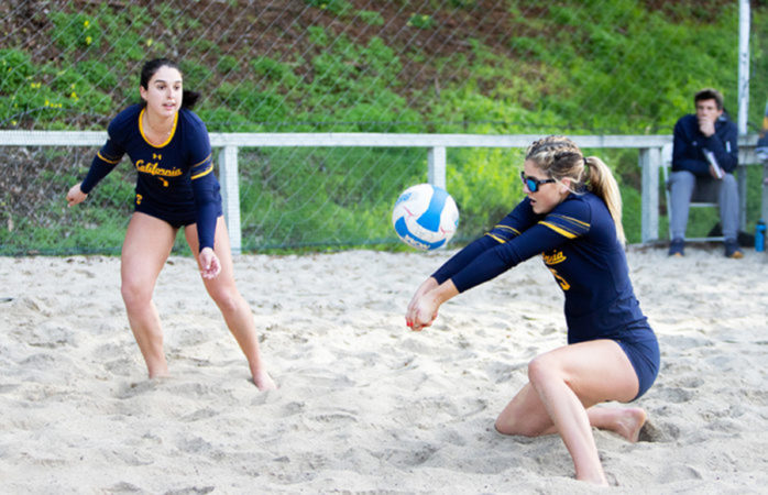 No. 12 Cal beach volleyball gets ready to tackle a tough streak of competition