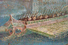 Roman War Galleys were frequent subjects of Po...
