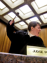 Judge Coco Declares Ang Out of Line! (Photo credit: Coco Mault)