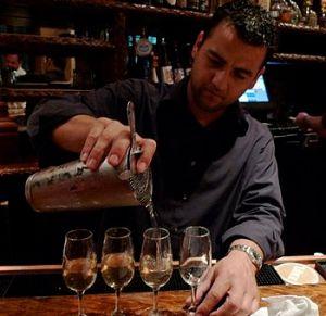 Bartender at Luke, New Orleans. (Photo credit: Wikipedia)