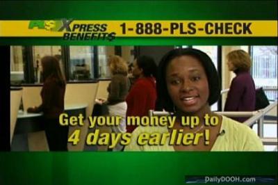 DailyDOOH » Blog Archive » PLS Check Cashers Bi-Lingual Offer