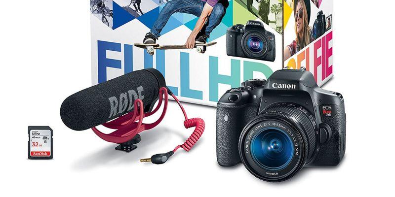Large Of Canon Rebel T6i Bundle
