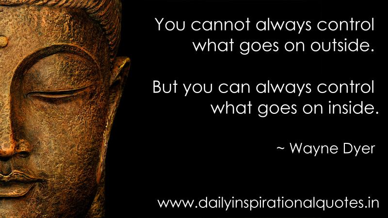 you cannot always control what meditation quotes