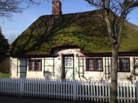 Wyks ältestes noch bewohntes Haus.