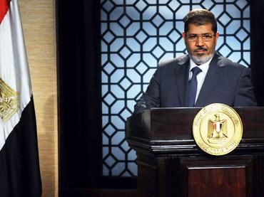 Muslim Brotherhood President-elect Mohamed Morsi. AFP Photo