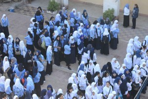 Proposals to combat sexual harassment include intensifying security patrols outside of girl's schools (File photo) Mohamed Omar