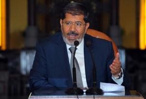 Mohamed Morsy. AFP/ File Photo
