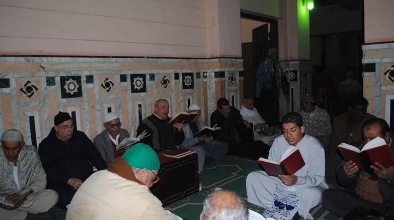 worshippers during a Hadra in Zein El-Abedien Abdel Rahman Sherif
