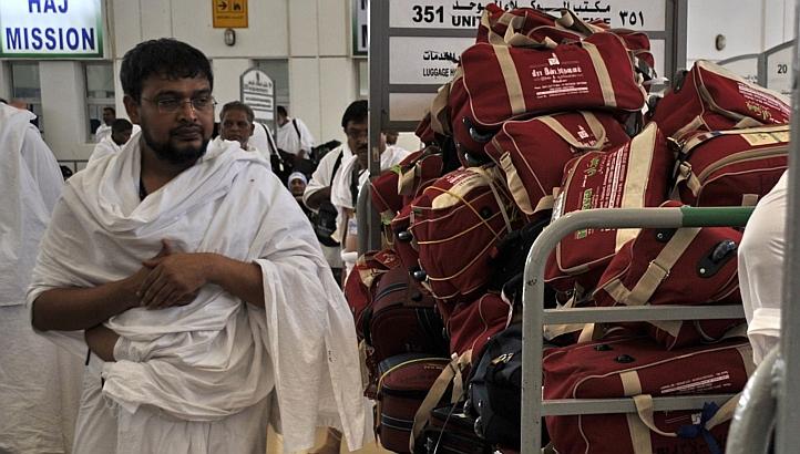 Man returning from Hajj AFP