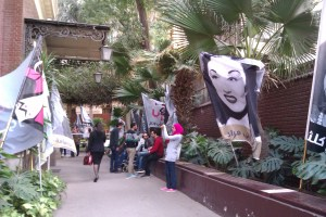 Women's movement Baheya Ya Masr celebrated its first anniversary on Sunday  (Photo By: Salma Hegab )