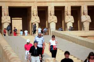 The initiative focuses on Luxor, Aswan and floating boats, to work in parallel with other initiatives on promoting tourism influx (AFP FILE PHOTO / KHALED DESOUKI)