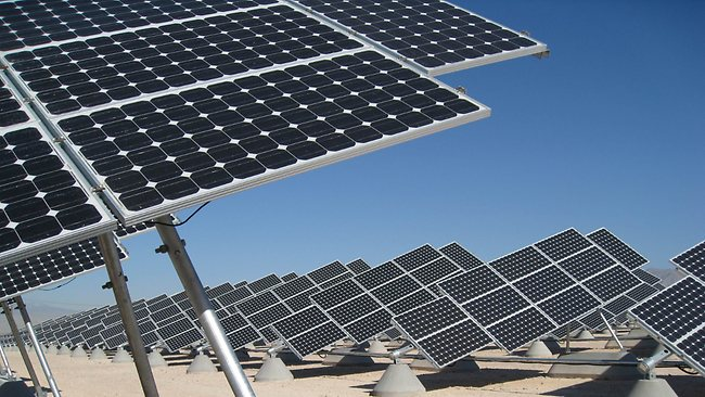 Obtaining funding for solar energy projects is difficult considering the fact that solar panels produce different amounts of energy depending on the time of year, said Futek BOD President Mohamed Helal (AFP Photo)