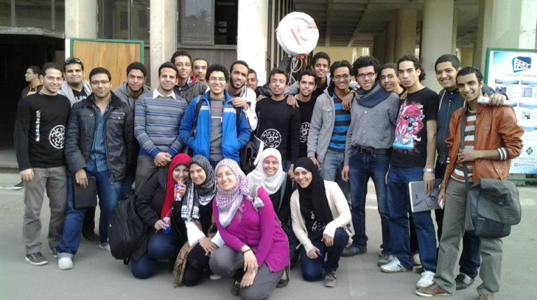 The students of K Vector Courtesy of K Vector