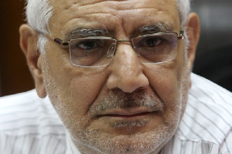 Former presidential candidate and leader of the Misr Al-Qawia Party Abdel Moneim Aboul Fotouh  (AFP Photo)