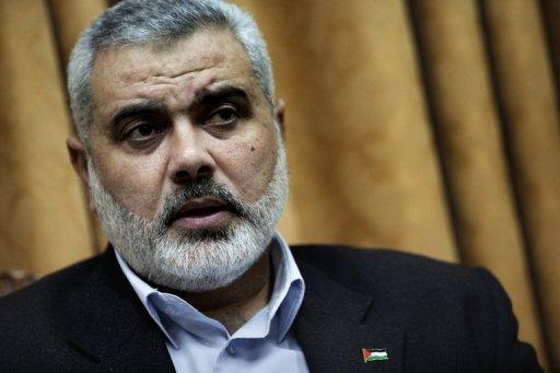 Deputy Head of the Hamas's political bureau Ismail Haniyeh (AFP File Photo)