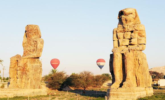The ministry and the Tourism Activation Authority (TAA) also seek promoting tourism to Luxor and Aswan.(AFP Photo)