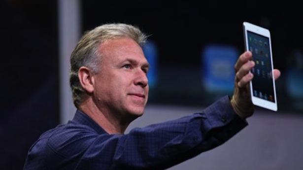 Apple Senior Vice President of Worldwide Marketing Phil Schiller announces the iPad Mini  (Kimihiro Hoshino/AFP Photo)