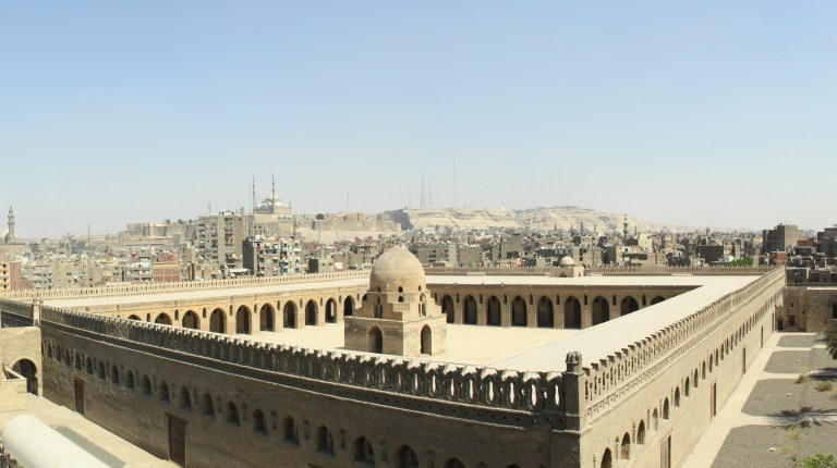 Panoramic View from Al Dhadoura Apartment (Photo By: Thoraia Abou Bakr)