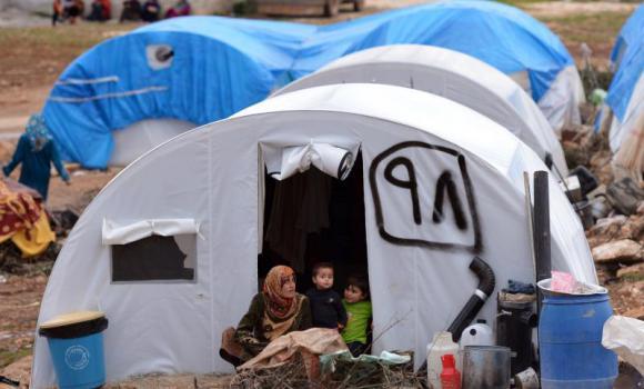 Syrian refugees AFP