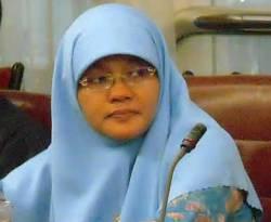 Anggota DPR RI dari Fraksi PKS Herlini Amran. (herliniamran.blogspot.com)