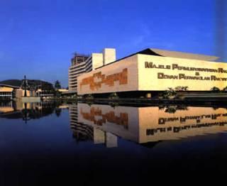 Gedung MPR/DPR Senayan, Jakarta. (Wikipedia)