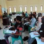 Suasana pelatihan kader dan pendamping PD-DASI NTB. (ist/dok)