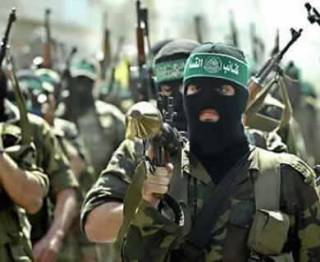 Ilustrasi - Pasukan brigade Izzudin Al-Qassam. (inet)