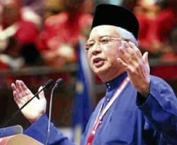 Perdana Menteri Malaysia Najib Razak. (nst.com.my)