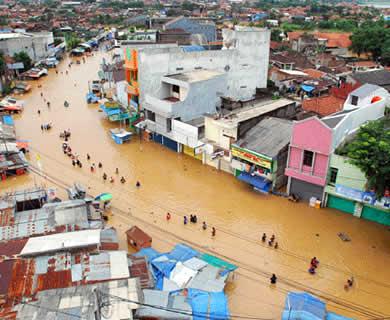 Ilustrasi - Banjir. (siluetdunia.blogspot.com)