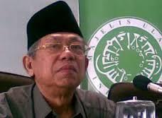Ketua Majelis Ulama Indonesia (MUI) Pusat, KH Ma'ruf Amin