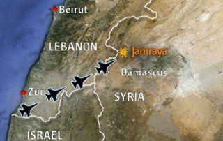 Serangan Udara Israel ke Suriah (inet)