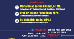 seminar DPW Gorontalo