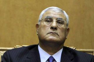 Adly Mansur, presiden Mesir hasil kudeta (inet)